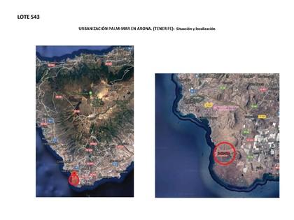 S43 - Plots in the Palm-Mar de Arona urbanization. Plots 17, 49 and 13 rest.