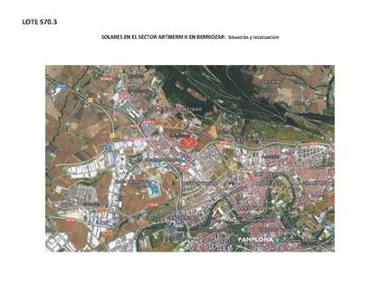 S70.3 - Five finalist plots in the PP Artiberri II, Berriozar, Navarra