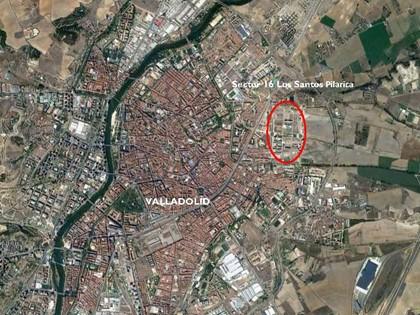 S35.1 — Cuota indivisa (8,60%) de la parcela 9B del sector 16 Los Santos I-Pilarica de Valladolid
