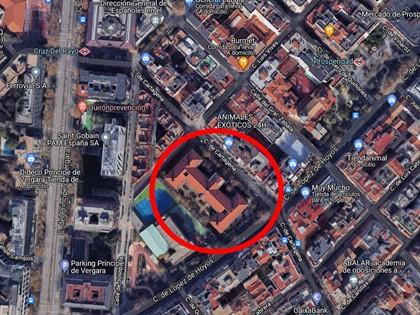 S1 - 169 Plazas de garaje uso público C/Lopez de Hoyos 65