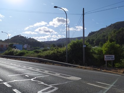 Solar urbanizable en el término municipal de Alzira, territorio de la Barraca de Aigües Vives. FR 69841 de RP de Alzira Nº2.