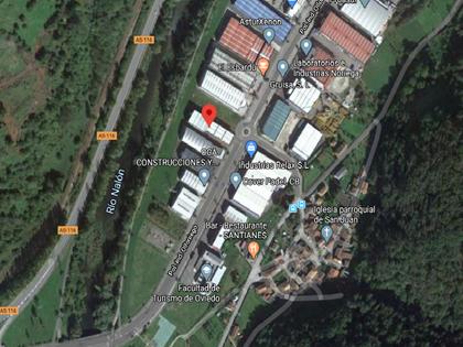 Nave industrial en Paraje Olloniego de Oviedo (Asturias). FR 17804 RP nº5 de Oviedo.