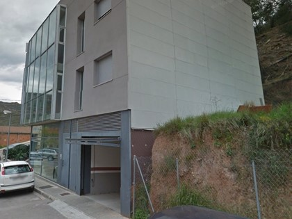 Plaza de garaje nº9 en calle Flautats, Monistrol de Montserrat (Barcelona). FR 3234 del RP de Manresa nº4