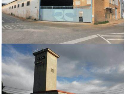 Edificación industrial en Murcia. FR 4738 del RP de Murcia nº1