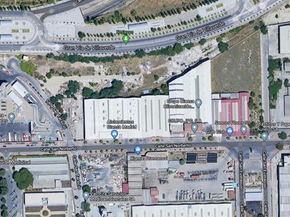 Lote compuesto por nave industrial y puente grúa en Villaverde (Madrid). FR 22200 y FR 22198 del RP de Madrid nº 16