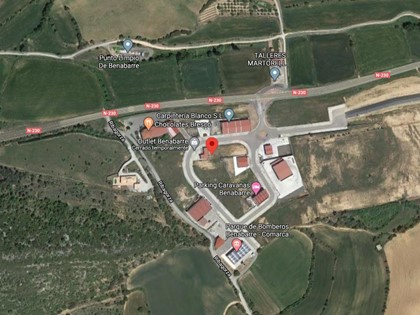 Parcela urbana en Benabarre (Huesca). FR 4056 del RP de Benabarre