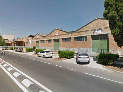 Nave letra D en Avda Valldigna nº 80 de Tavernes de la Valldigna (Valencia).FR 47732 RP Tavernes de la Valldigna