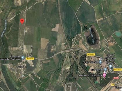 Rústica parcela nº 5002 término de Cuarte (Huesca). FR 40919 RP Huesca nº1