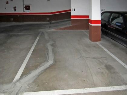 Plaza de garaje nº 41 en Calle Benito Pérez Galdos de Burgos. Parte indivisa FR 41128 del RP de Burgos nº4
