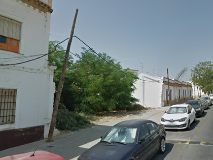 Solar en Calle Marchena Colombo 3 . FR 81919 del RP de Huelva nº3