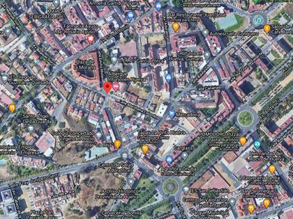 Solar en Calle Marchena Colombo en Huelva. FR 81923 del RP de Huelva nº 3