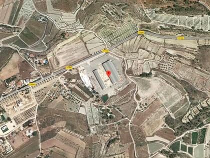Terreno rústico con edificaciones de naves en La Romana, (Alicante). FR 7776 RP Novelda