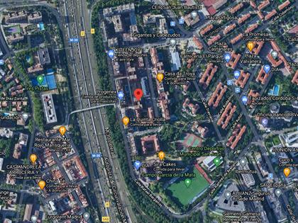 Plaza de garaje nº 46 calle Emilio Barral nº 7 en Madrid. FR 3428 RP Madrid 33