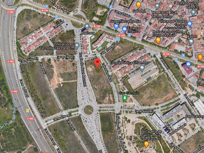Parcela 12.2 en calle Dinamarca 35 de Sabadell, (Barcelona). FR 68465 RP Sabadell nº 1