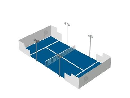 """Unidad productiva """"actividad deportiva Pádel"""" compuesta por construcciones, mobiliario, equipos y maquinaria."""