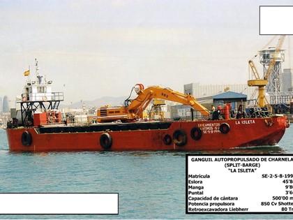 """Embarcación denominada """"La Isleta"""""""